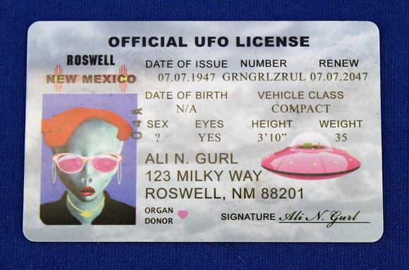 Ali N. Gurl License