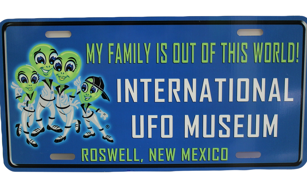 Ralf Family License Plate