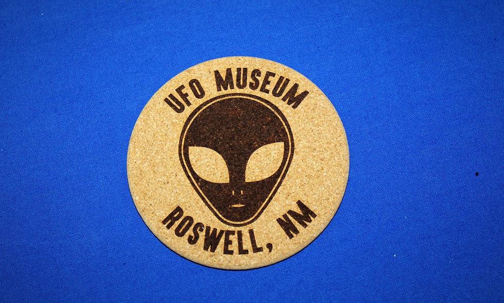 Alien UFO Museum Coaster