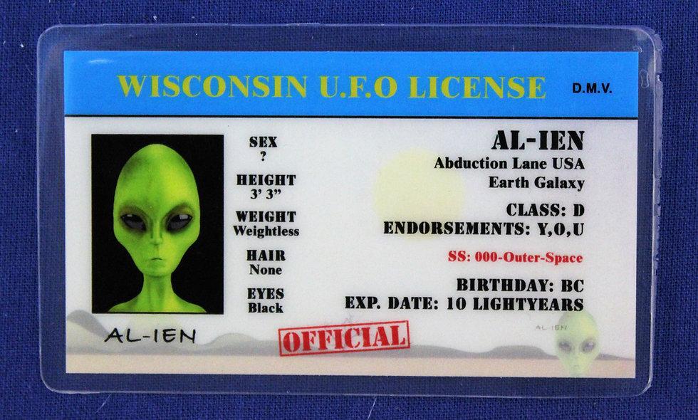 Wisconsin U.F.O. License