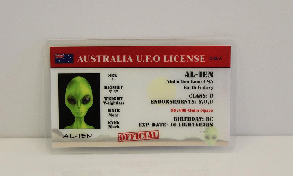 Australia UFO License