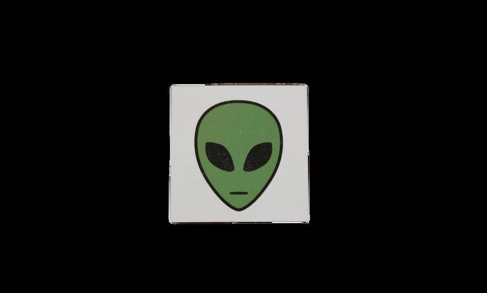 Green Alien Tattoo