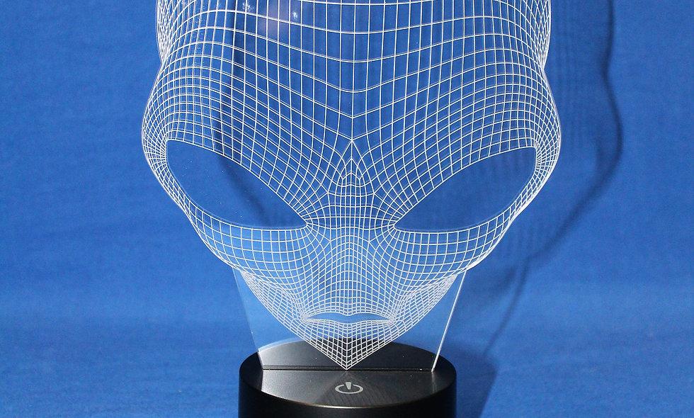 LED Light - Alien Head