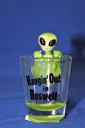 Hangin' Out Shot Glass