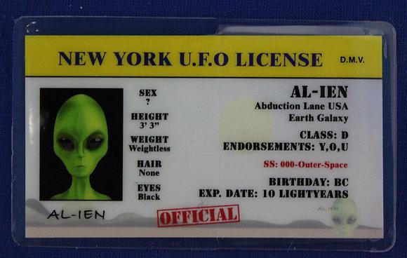 New York U.F.O. License