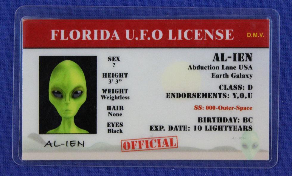 Florida U.F.O. License