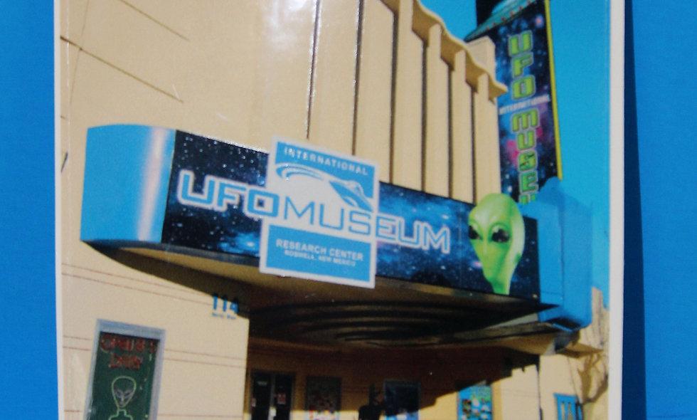 Museum Entrance LARGE Sticker