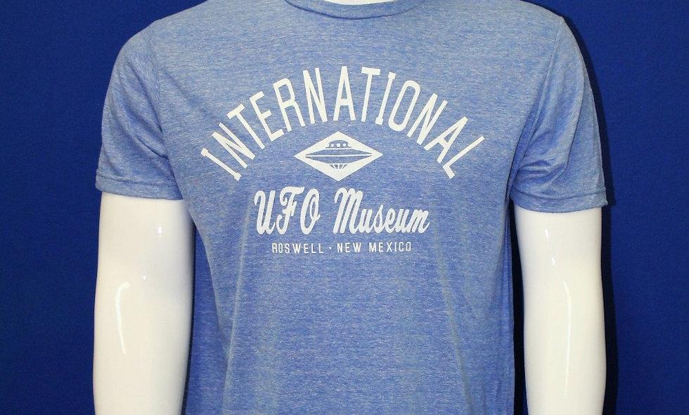 Rhombus Ship T-shirt - Blue