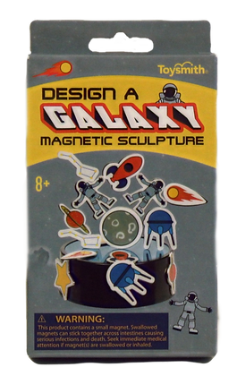 Galaxy Magnetic Sculpture