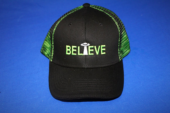 Believe Mesh Hat