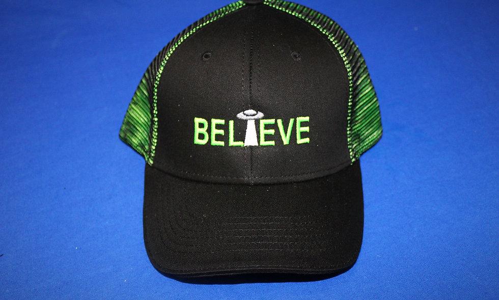 Believe Mesh Hat