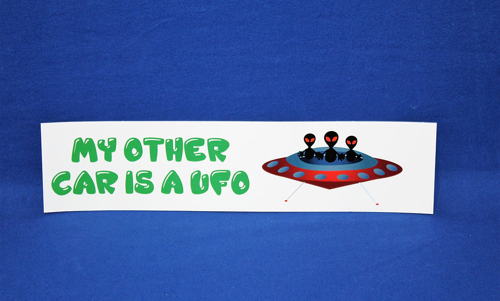 My Other Car Bumper Sticker