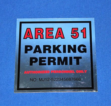 Area 51 Decal