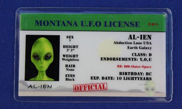 Montana U.F.O. License