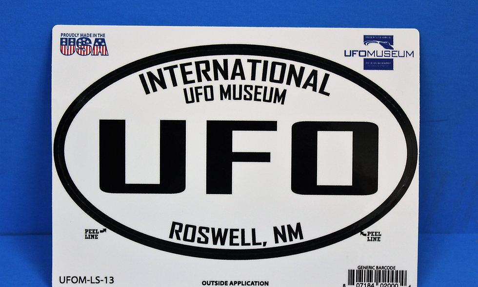 UFO LARGE Sticker