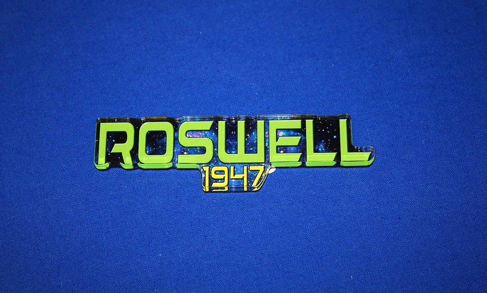 Morris Acrylic Roswell 1947 Magnet