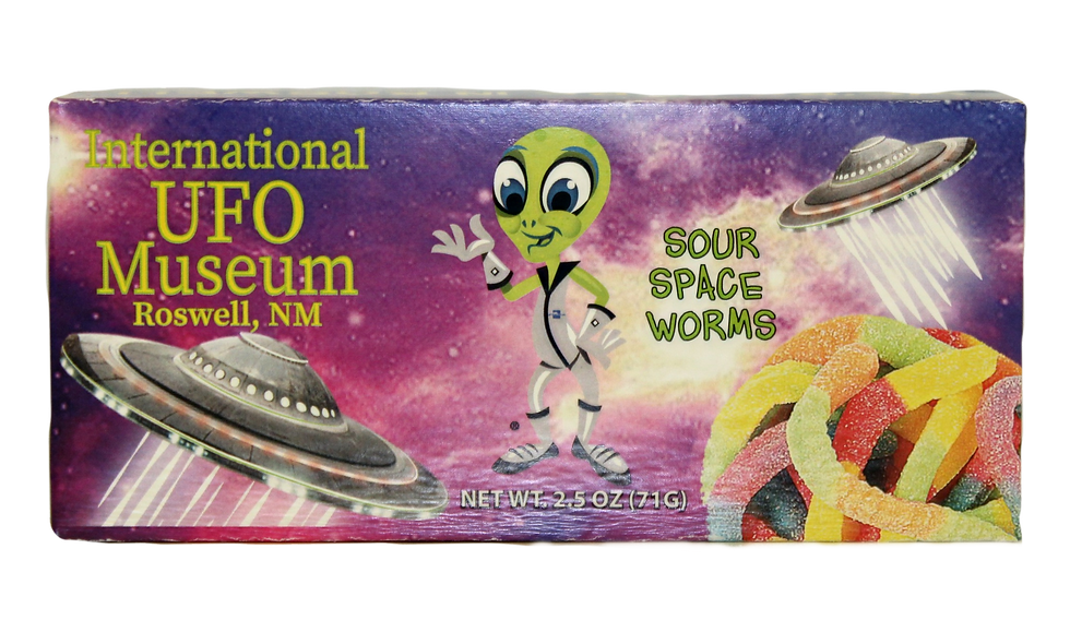 Sour Space Worms