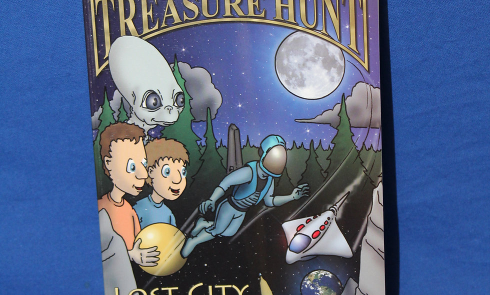 Galactic Treasure Hunt #1: Lost City of the Moon