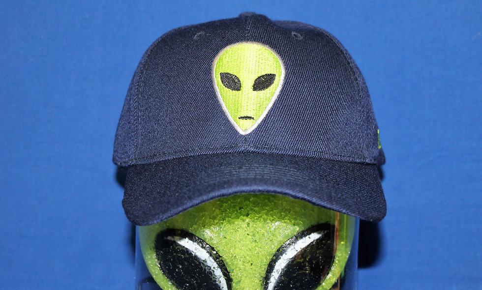 Navy Alien Hat