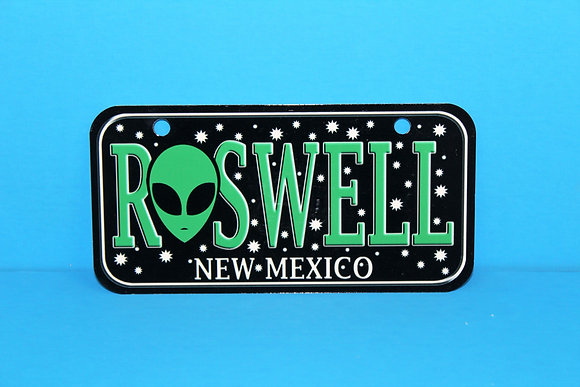 Roswell NM Bike Plate