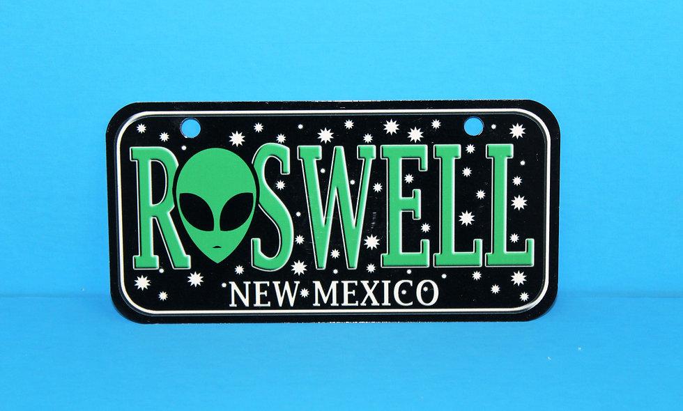 Roswell NM Bike Plate