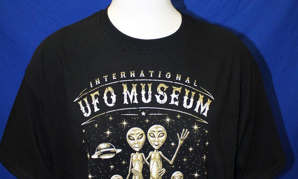 Wild West Alien Family T-Shirt