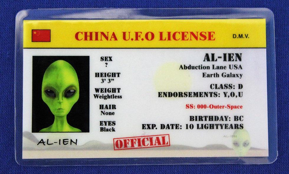 China U.F.O. License