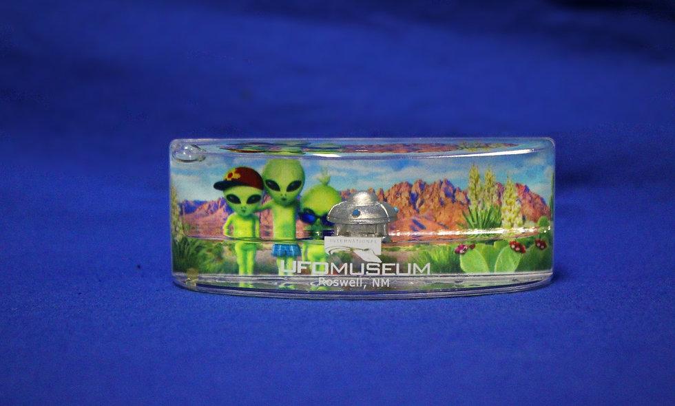 Panorama Alien Magnet