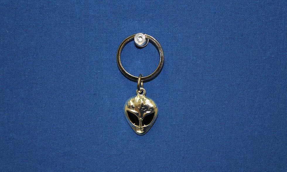 Silver Head Keychain