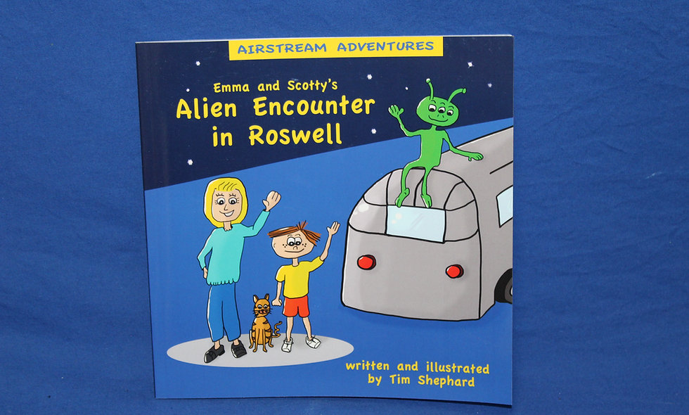 Emma and Scotty's Alien Encounter in Roswell