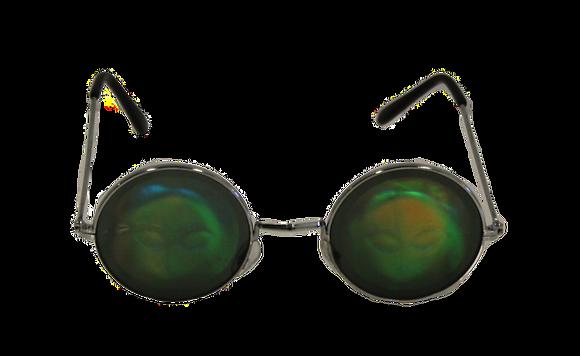 Hologram Alien Glasses