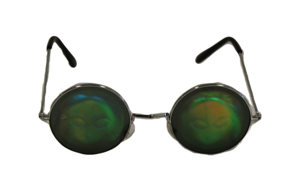 Hologram Alien Glasses
