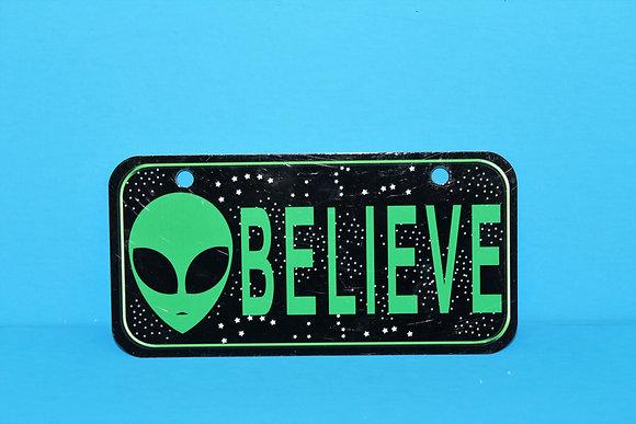 Believe Bike Plate