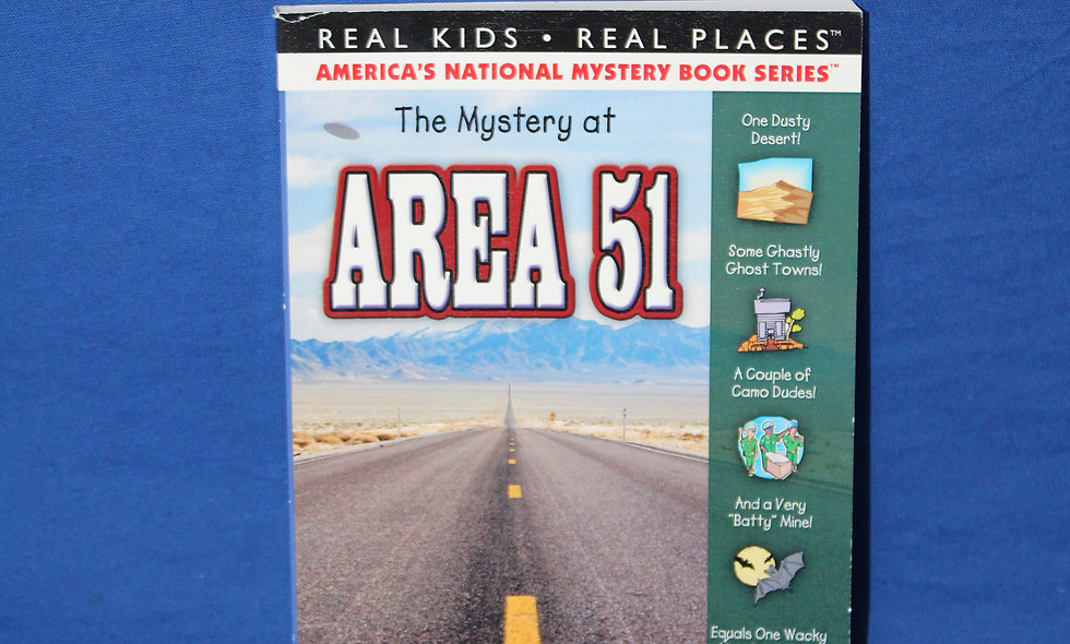 Mystery at Area 51