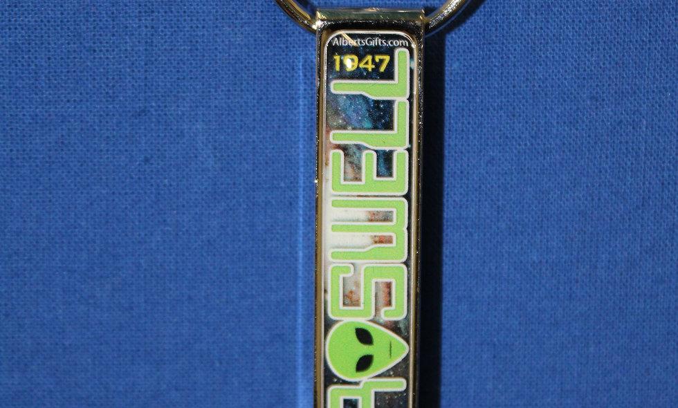 Roswell Galaxy Keychain