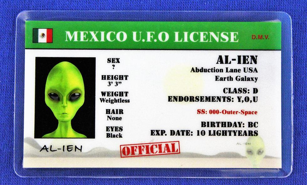 Mexico U.F.O.License