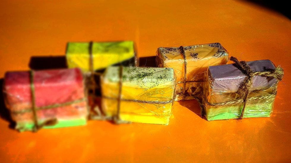Soap gift Set of 5 cbd body bars