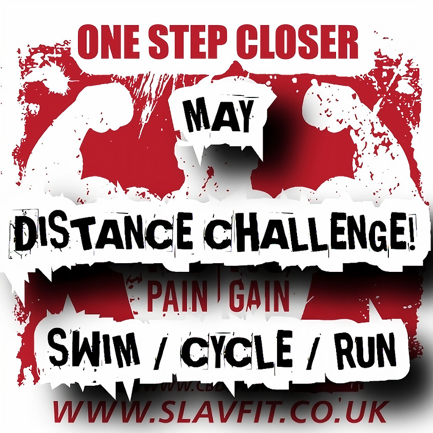 MAY DISTANCE CHALLENGE.