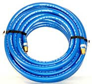 "1/2"" x 50' Blue  Air Hose MXM 200psi"