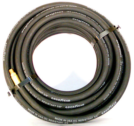 "3/8"" x 75'  Air Hose MXM (3 Colors) 200psi"