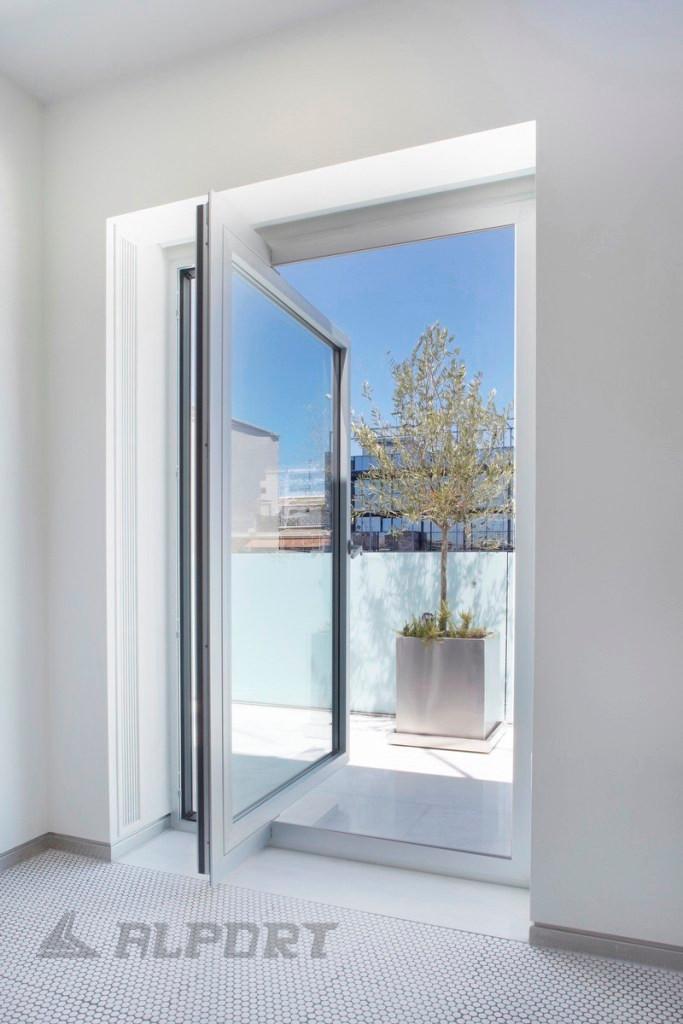 Έκκεντρο Αξονικό κούφωμα Schüco με υψηλό επίπεδο ασφάλειας και ηχομόνωσης, pivot window, pivot door ,αξονικη πόρτα