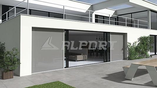Η εταιρία Alport σας παρουσιάζει τα νέα σκιάδια για κουφώματα μεγάλων διαστάσεων με μεγάλη ανθεκτικότητα σε υψηλές ανεμοπιέσεις.  Τα συγκεκριμένα αντιανεμικά Blinds  αντέχουν σε κακές καιρικές συνθήκες και υψηλές πιέσεις ανέμων μέχρι 115 Km/h oταν είναι κλ