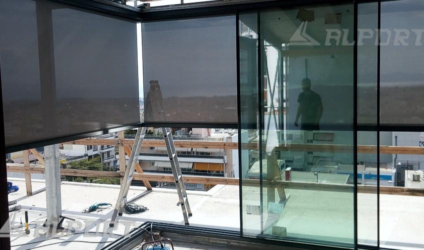 Σίτα για Γωνιακό κούφωμα , γωνιακό κούφωμα αλουμινιου με minimal προφιλ ,Κουφώματα λεπτού προφίλ, κρυφά κουφώματα , λεπτά κουφώματα, minimal αλουμινια, minimal aluminium window frames,Minimal Frame Windows, minimalist windows, frameless sliding windows