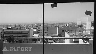 Συρόμενα κουφώματα αλουμινίου χωρίς πλαίσιο.Ολοκληρώθηκαν οι εργασίες τοποθέτησης ενεργειακών minimal κουφωμάτων λεπτού προφίλ σε διαμέρισμα ,minimal aluminium windows, minimal αλουμινια