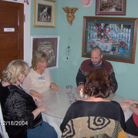 Seance at Victorian Manor Tea House