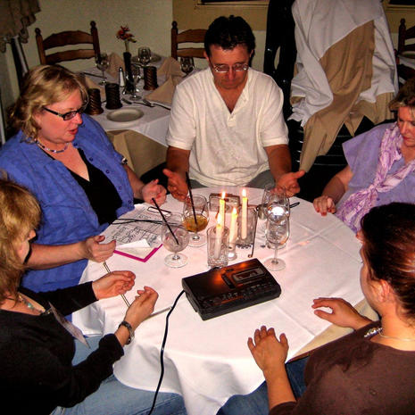 Seance at a Fullerton Restaurant