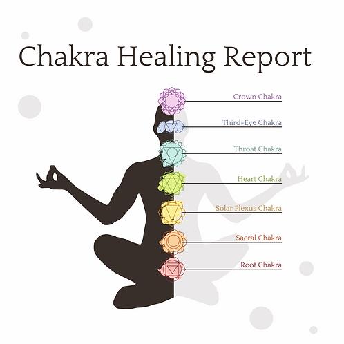 Astrology:  Chakra Healing Report