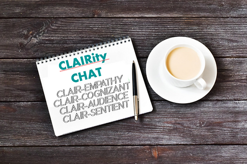 CLAIRity Chat Session:  50 Minute