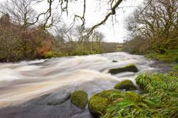 West Dart's River Raging