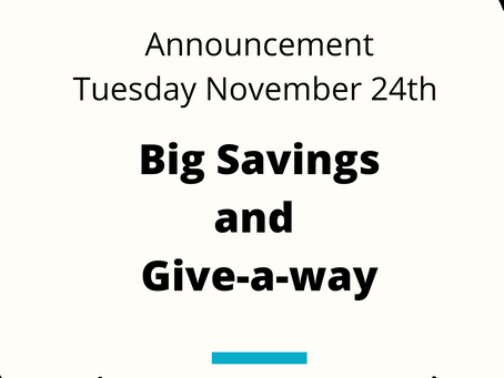 Save Big Now for Later